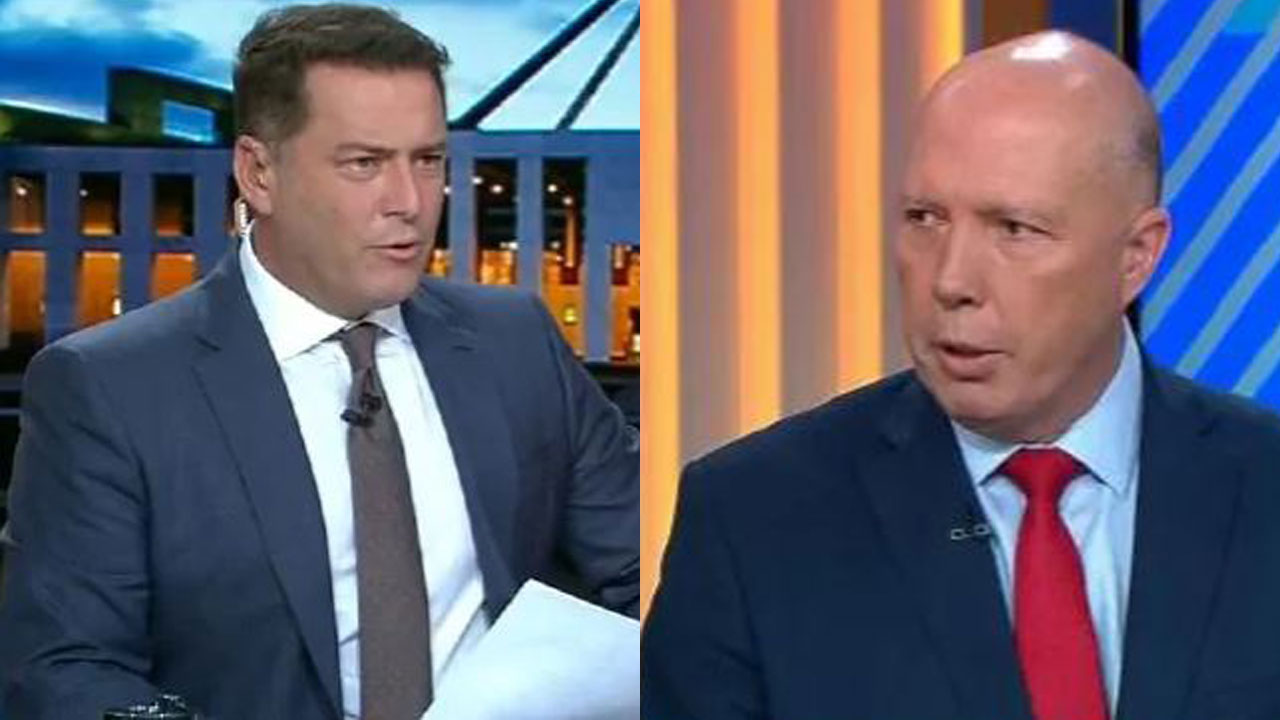 Karl Stefanovic's fiery clash with Peter Dutton over $100 million scandal