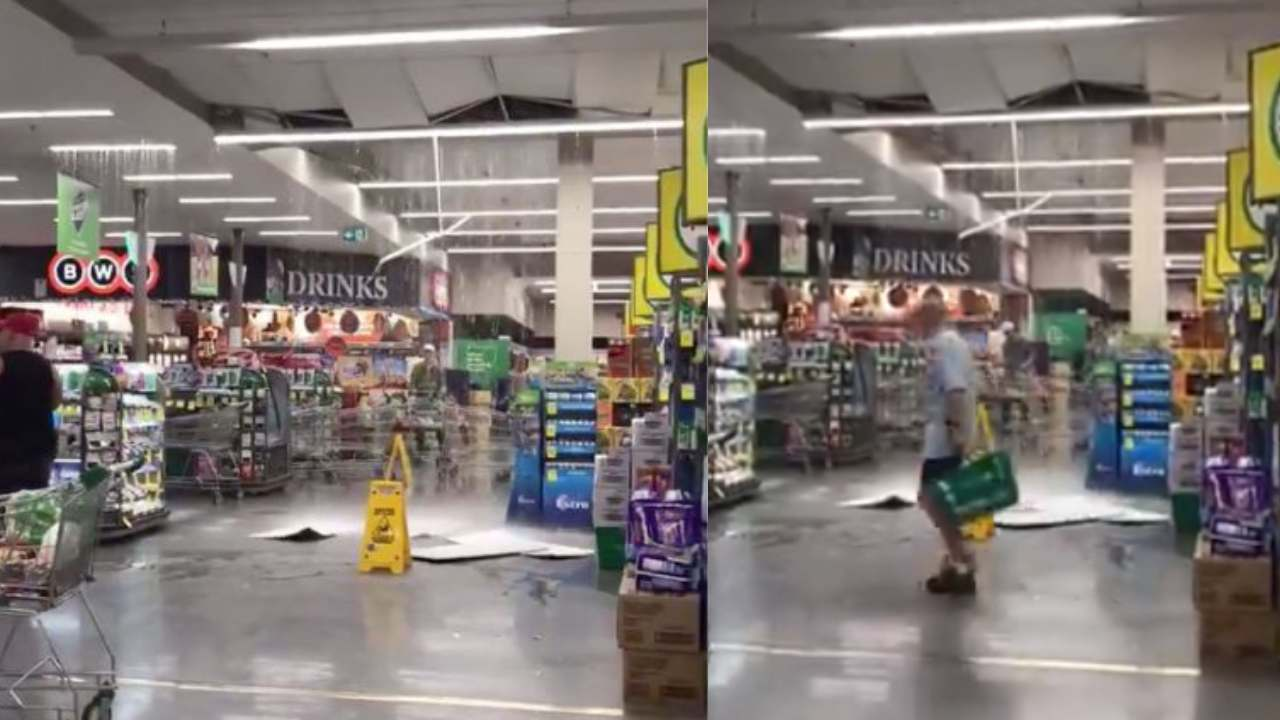 """""""A miracle no one was killed:"""" Woolworths shopper recalls horror as ceiling collapses"""