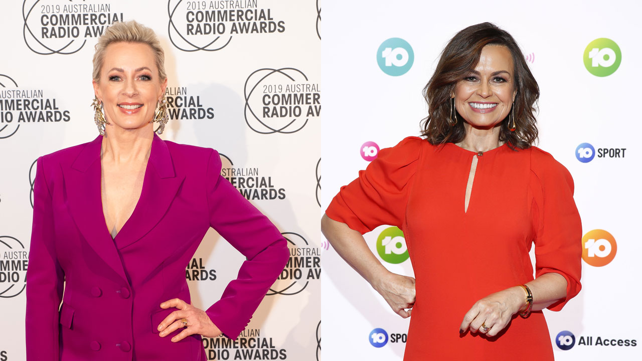 Hair of the dog: Amanda Keller cracks up over hilarious dinner party gaff with Lisa Wilkinson