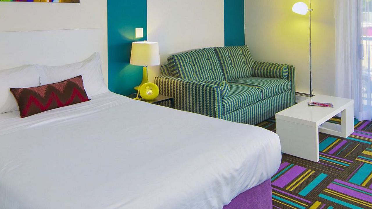 The hotel that offers free stays for couples who make babies