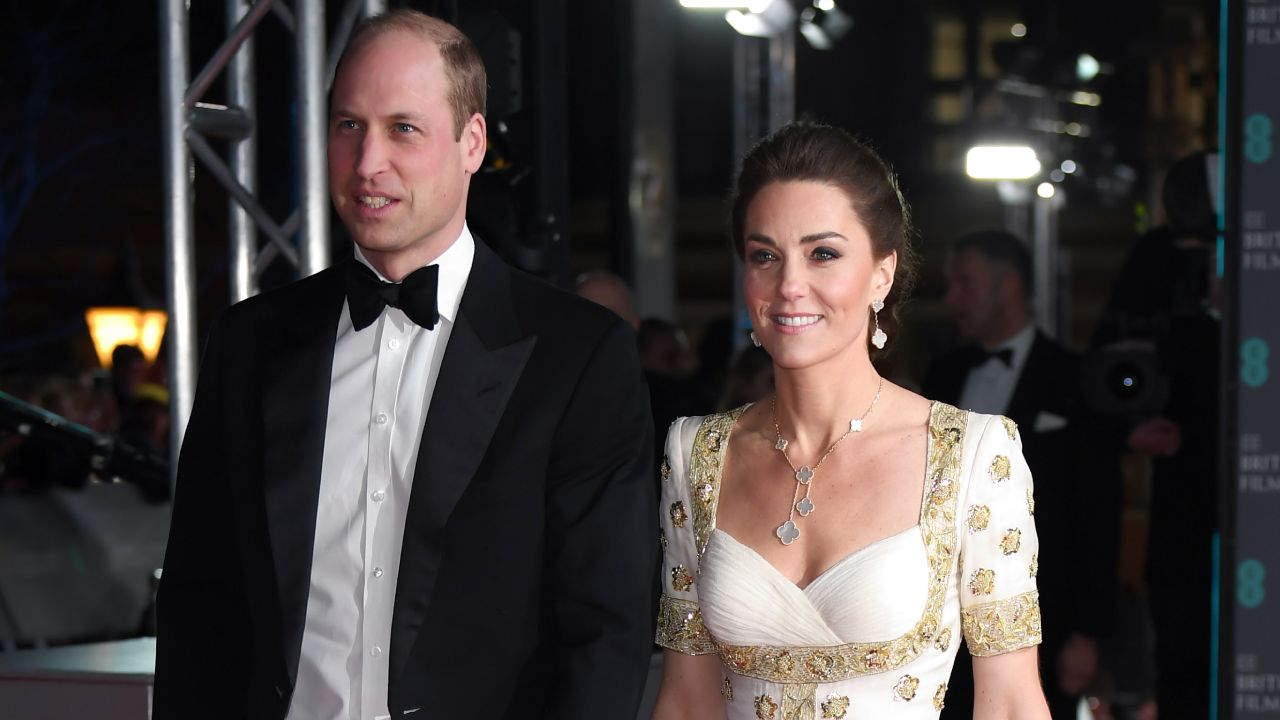 """""""You look beautiful too Will!"""": Cheeky fan compliments the Duke of Cambridge at BAFTAS"""