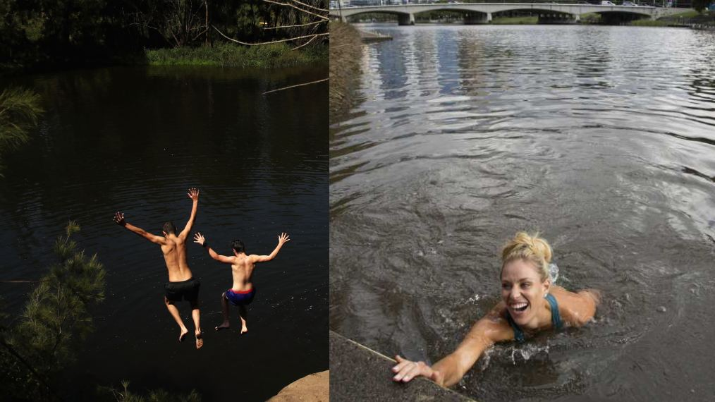 A tale of 2 rivers: is it safer to swim in the Yarra in Victoria or the Nepean in NSW?