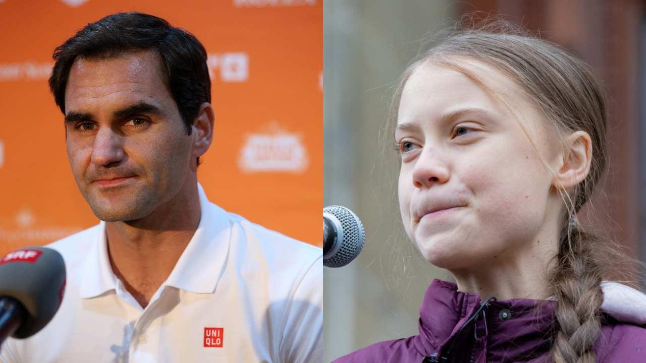 "Roger Federer responds to Greta Thunberg criticism: ""I am misused"""