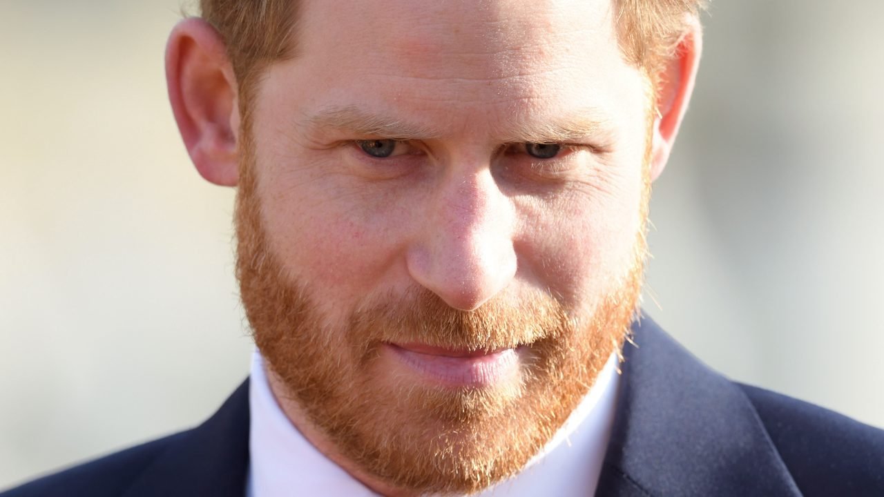 Bit off the top: Prince Harry visits hair loss clinic in London