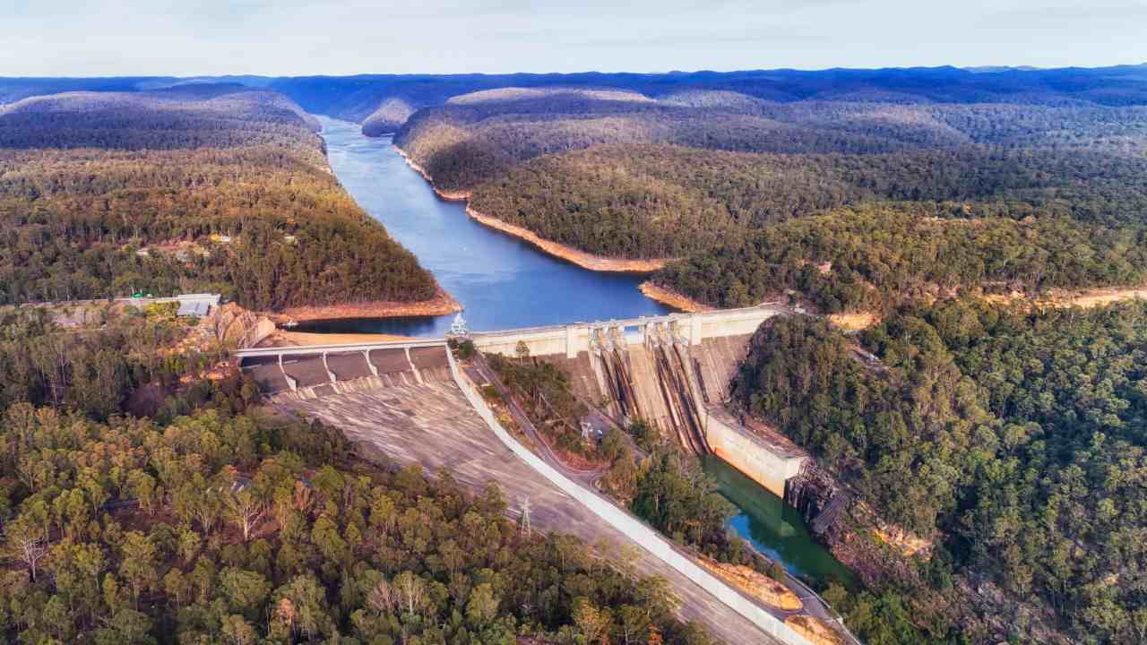 Why the heavy rain is great news for Sydney's dams