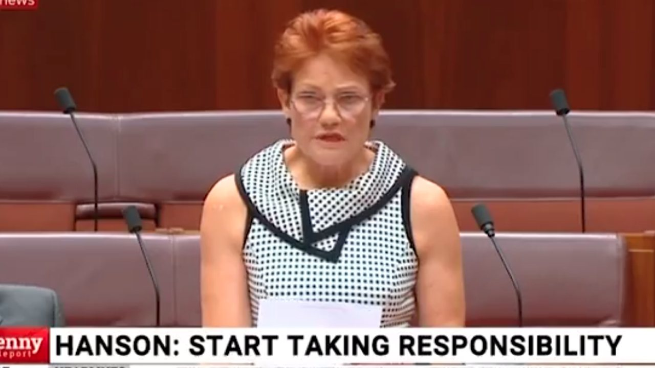 Shock as Pauline Hanson calls for Australian borders to be closed