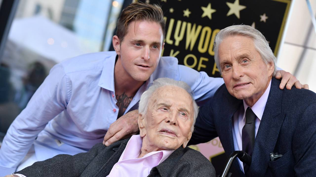 Kirk Douglas' grandson reflects on his passing in emotional interview