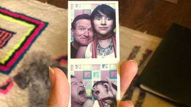 Wonderful unseen photos of Robin Williams found during self-isolation