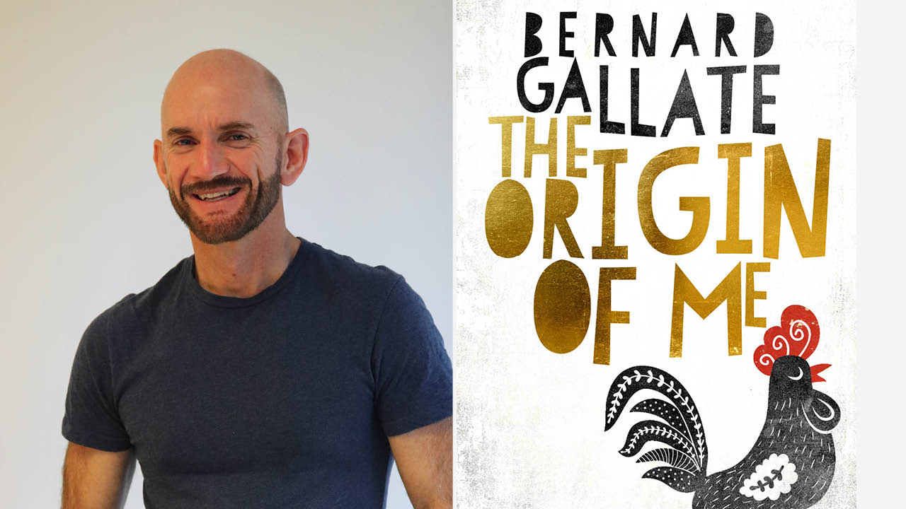 5 minutes with author Bernard Gallate