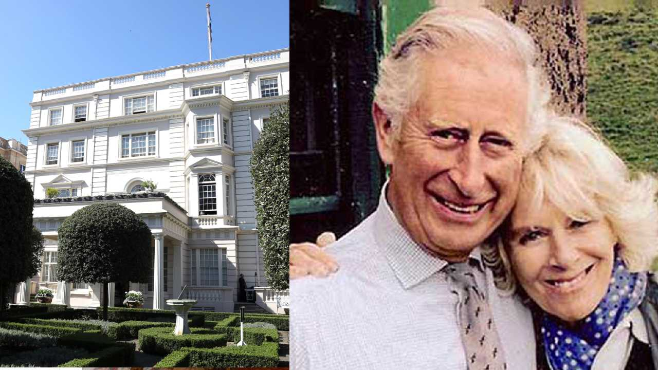 Royal residence! Rare look into Prince Charles' and Duchess Camilla's Clarence House