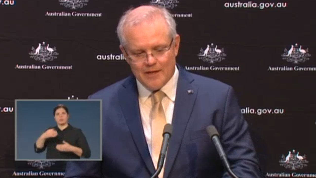 Scott Morrison tears up as he reveals what keeps him awake at night