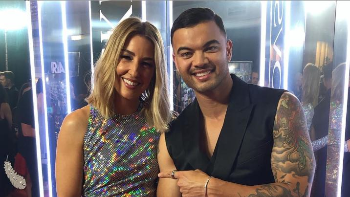 """Guy Sebastian gives rare look into """"special"""" monochromatic mansion"""