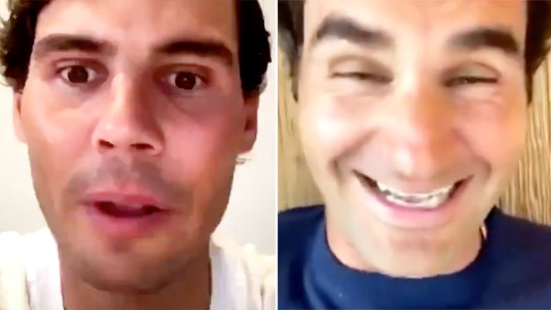 Tennis fans shred Rafael Nadal over blunder in Roger Federer chat