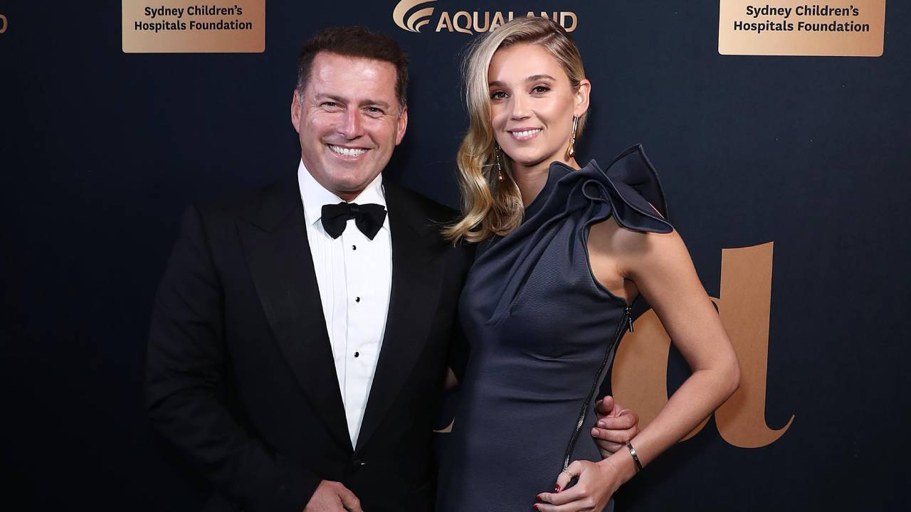 """Karl Stefanovic gushes over wife to publication he once branded as """"despicable"""""""