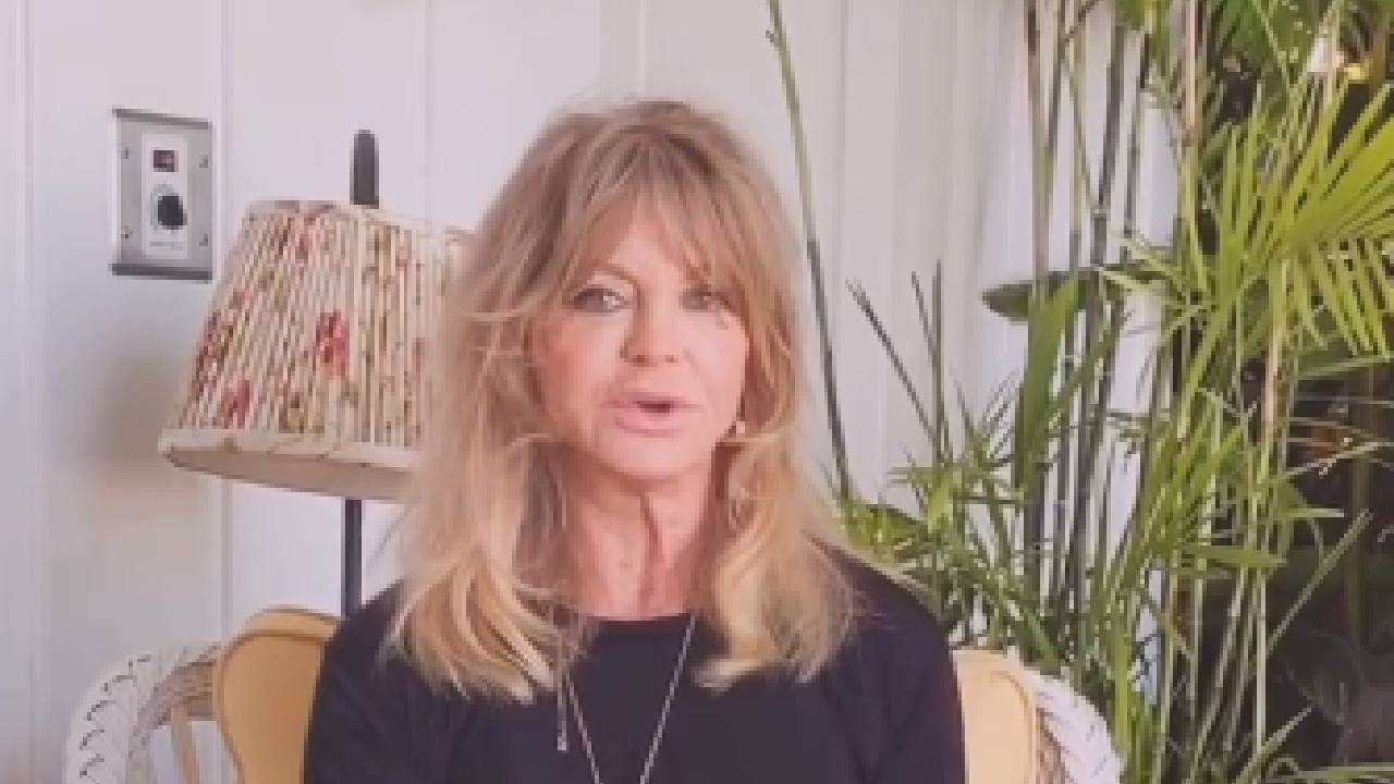 "Goldie Hawn delivers the ""brain break"" we all need during COVID-19 crisis"