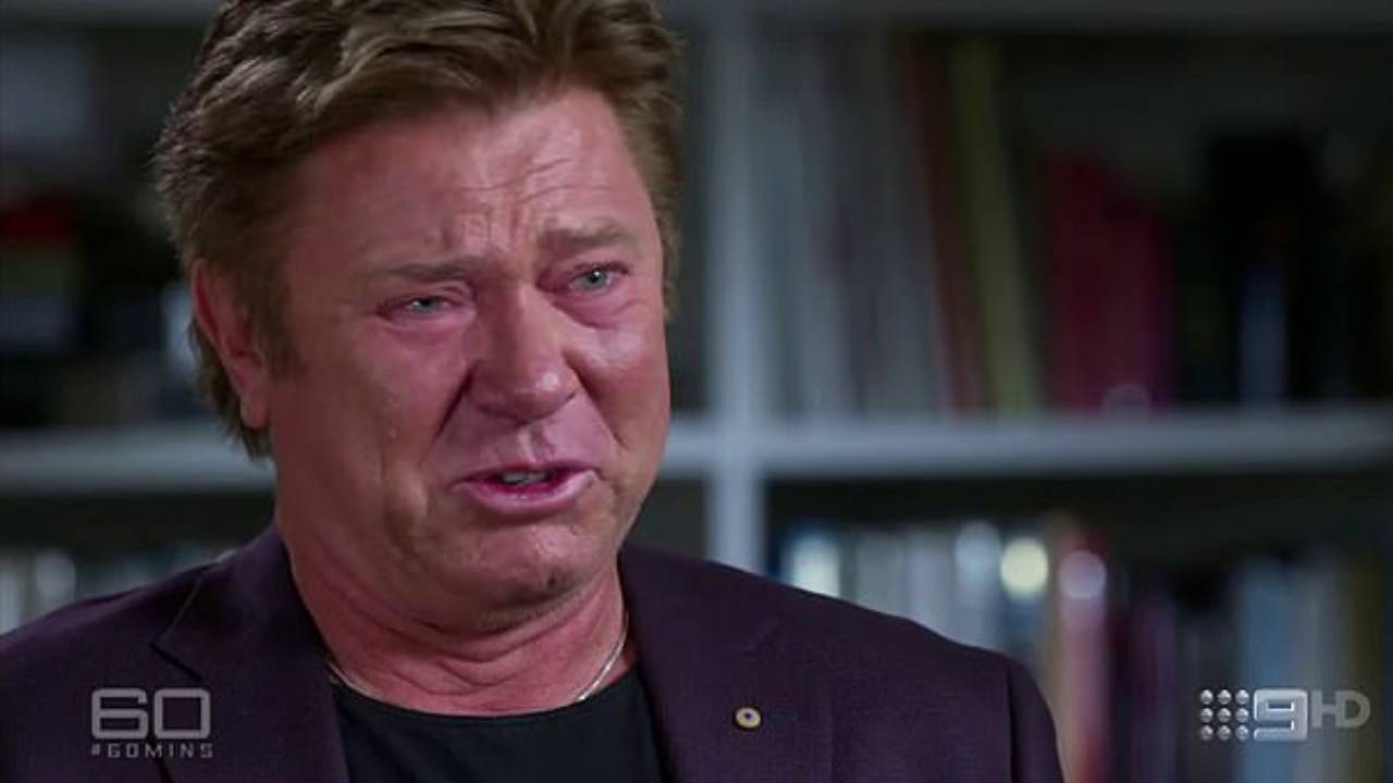 Richard Wilkins breaks down in first appearance since testing positive for COVID-19