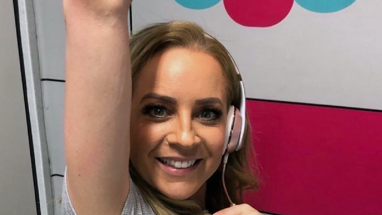 Carrie Bickmore reveals the less glamorous side of showbiz