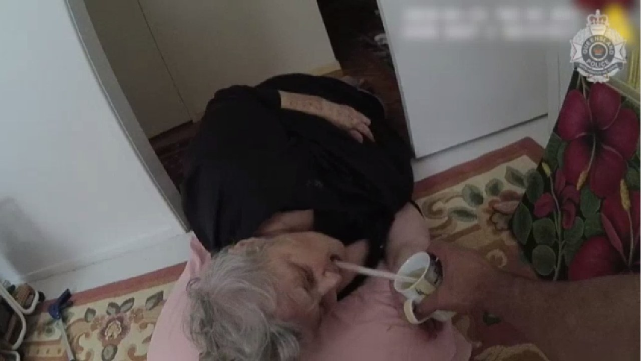 """""""My angels"""": 80-year-old woman rescued at home after falling and breaking her hip"""