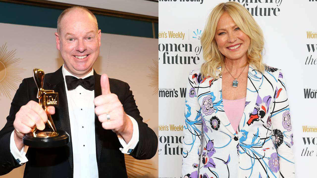 Tom Gleeson pours fuel on feud with Kerri-Anne Kennerley