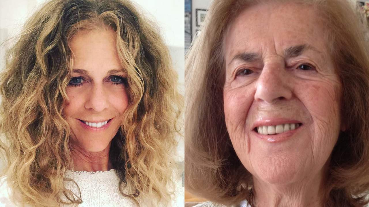 Rita Wilson shares heartbreaking post about her mother's battle with Alzheimer's