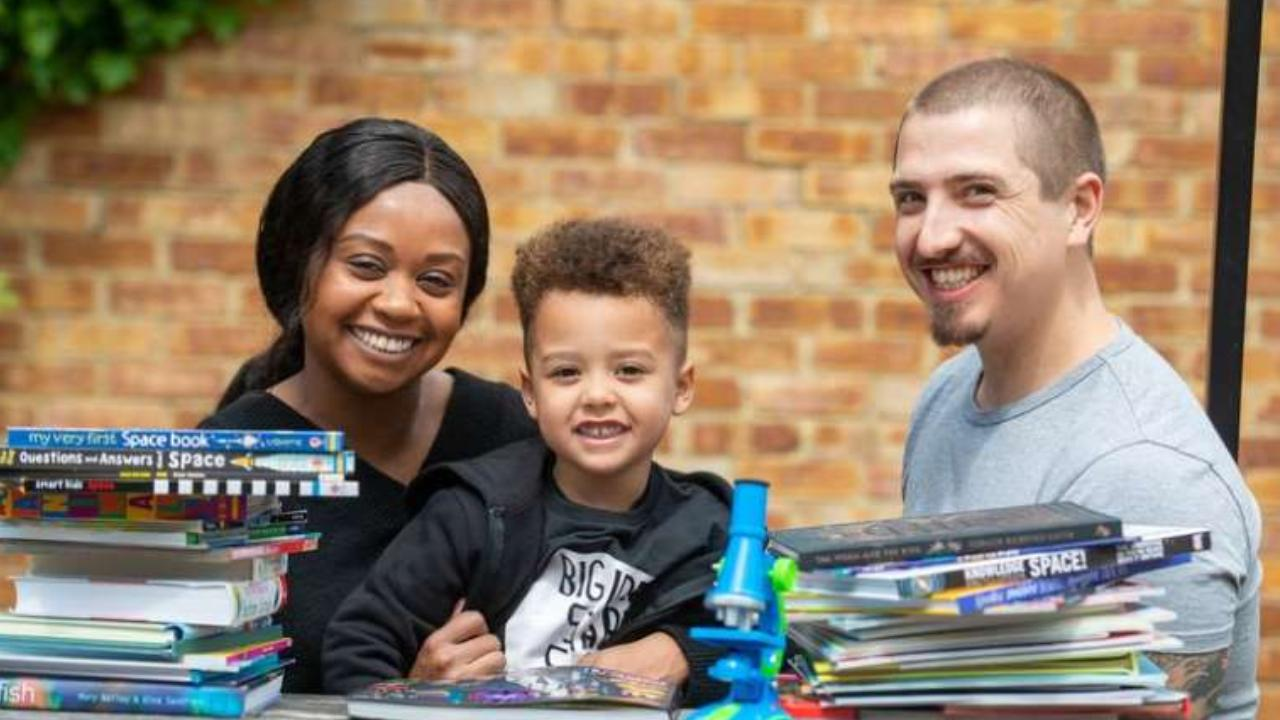 Family thrilled with genius toddler who has IQ of 154