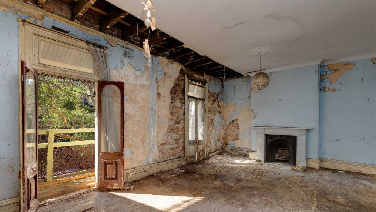 Frank surprise at dilapidated Sydney house on market for $3.6 million