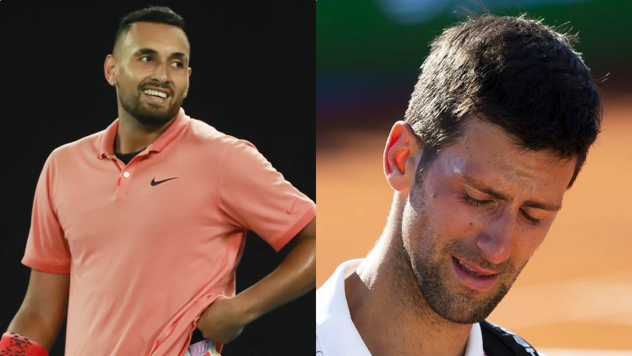 """Boneheaded"": Nick Kyrgios hits out at Novak Djokovic after positive COVID-19 test"