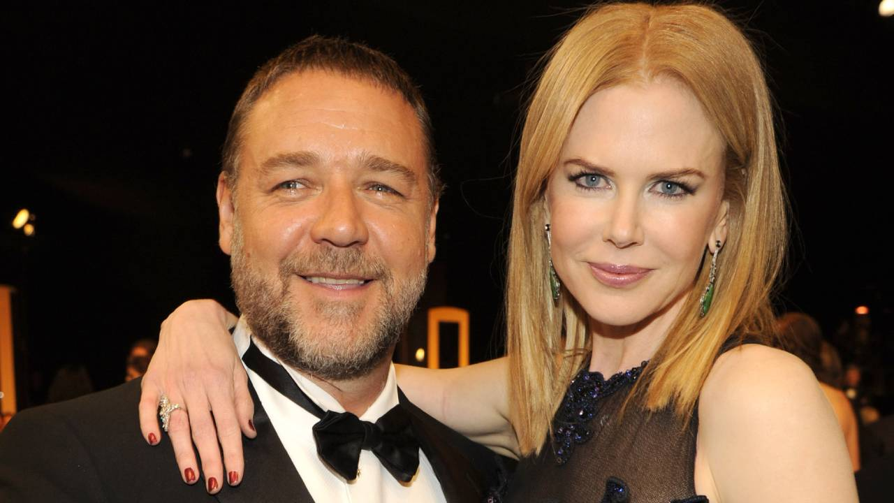 Russell Crowe remembers hilarious prank Nicole Kidman pulled on Jay Leno