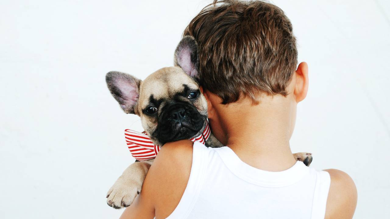Why owning a dog will benefit your grandkids when they're at home