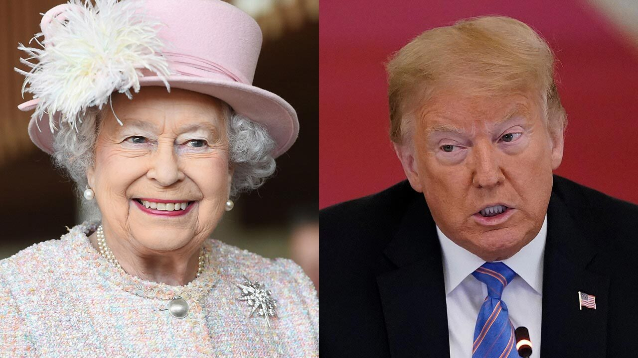 Queen Elizabeth speaks with US President Donald Trump ahead of Independence Day