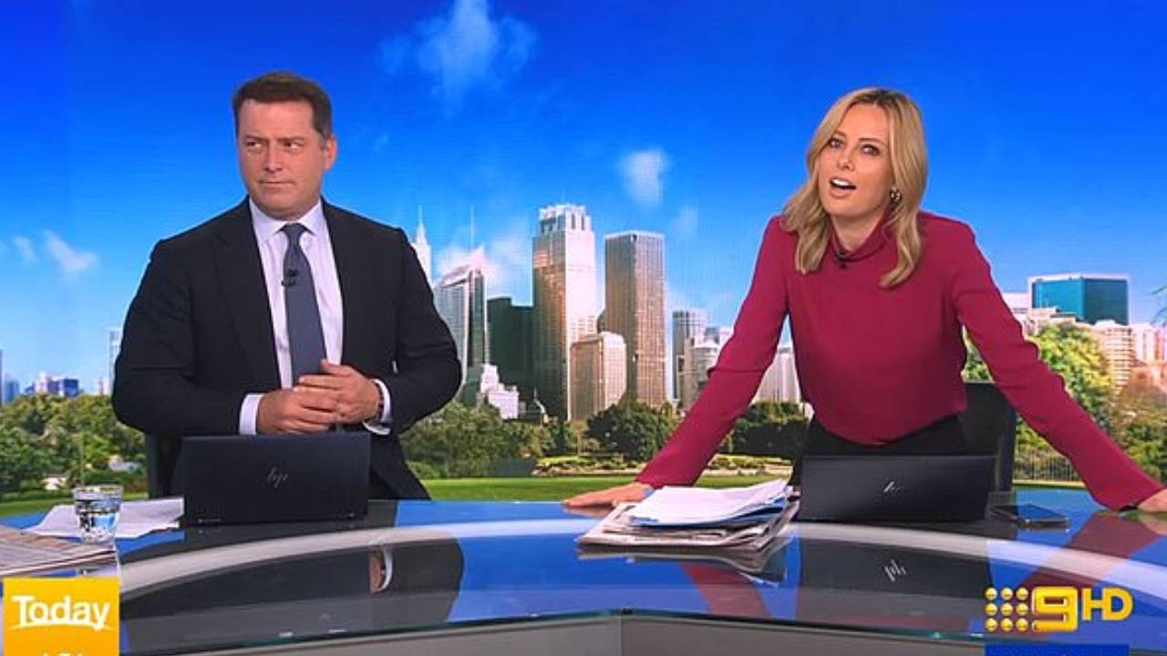 Karl Stefanovic storms off Today show live on air after Allison Langdon's hurtful tweets
