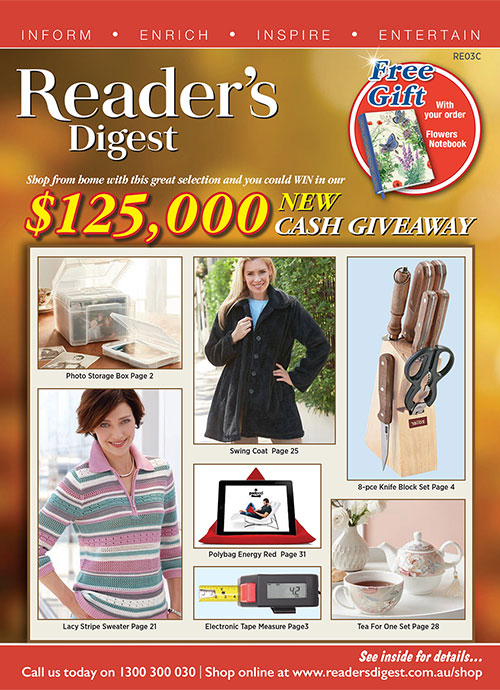 Reader's Digest Catalogue - Late Winter 2020