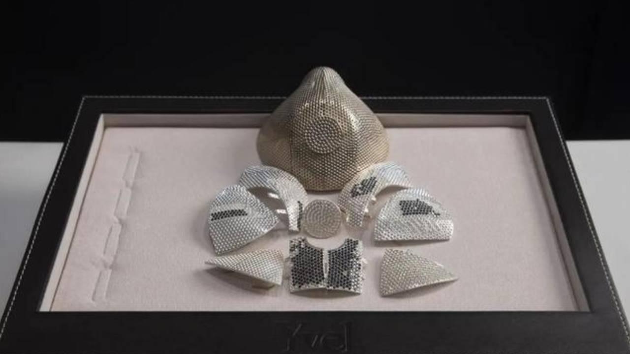 Luxury jewellery company designs $2 million face mask