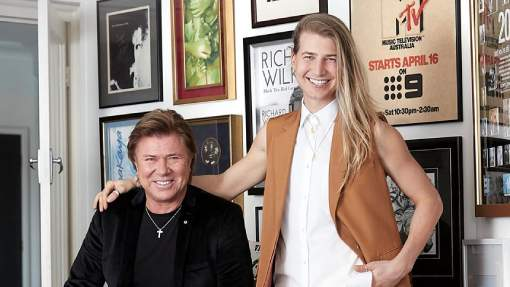 Richard Wilkins and son Christian bare all in rare interview