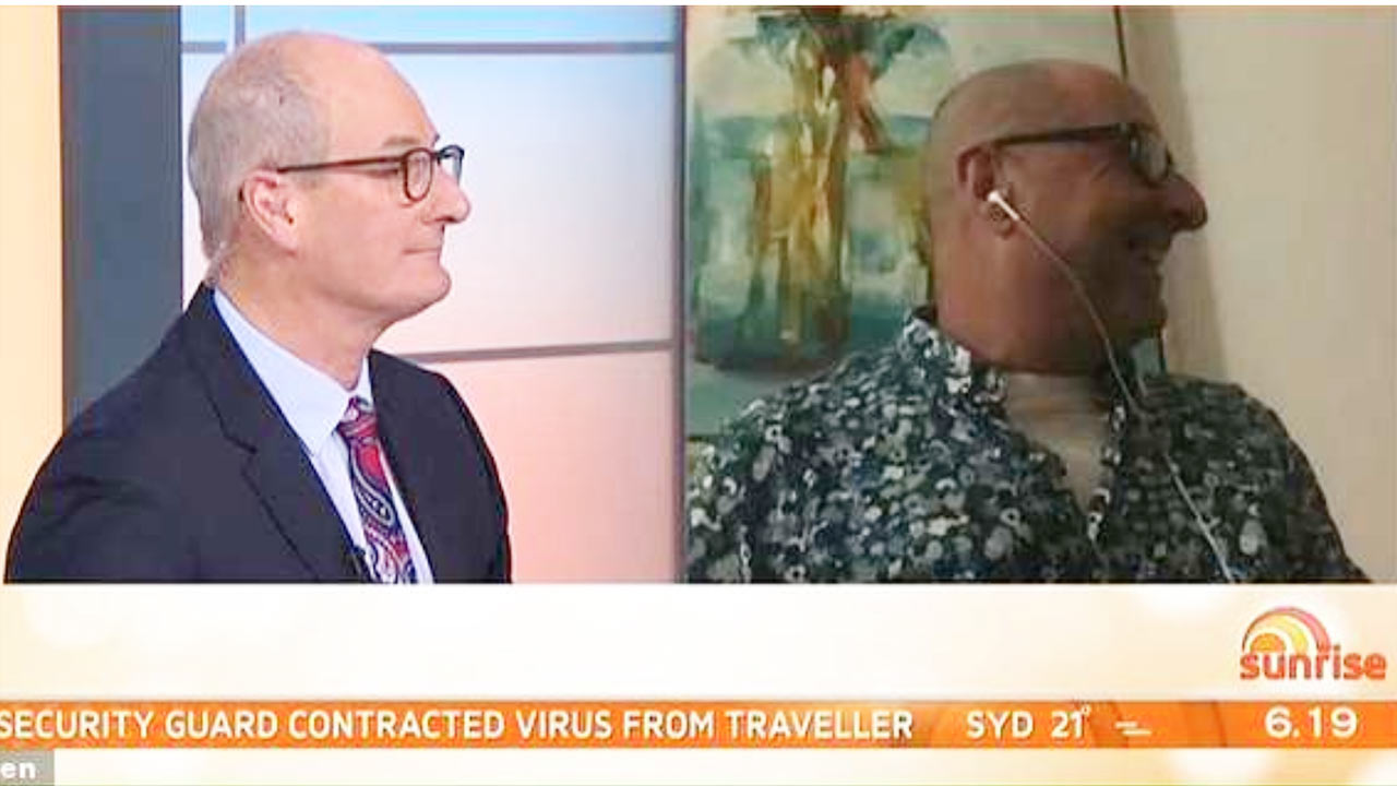Could this be Kochie's long-lost brother?