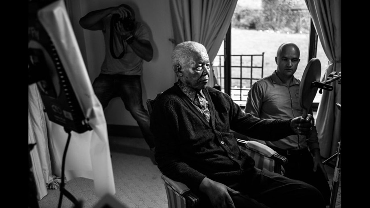 Nelson Mandela's final photos