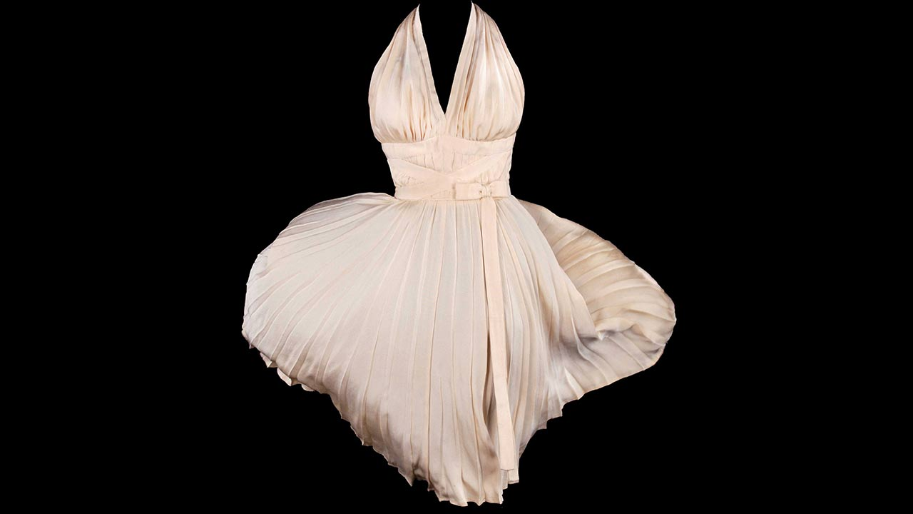 Marilyn Monroe's white dress