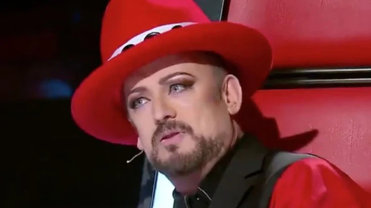 """Boy George's hilarious response to The Voice """"dumping"""":"""