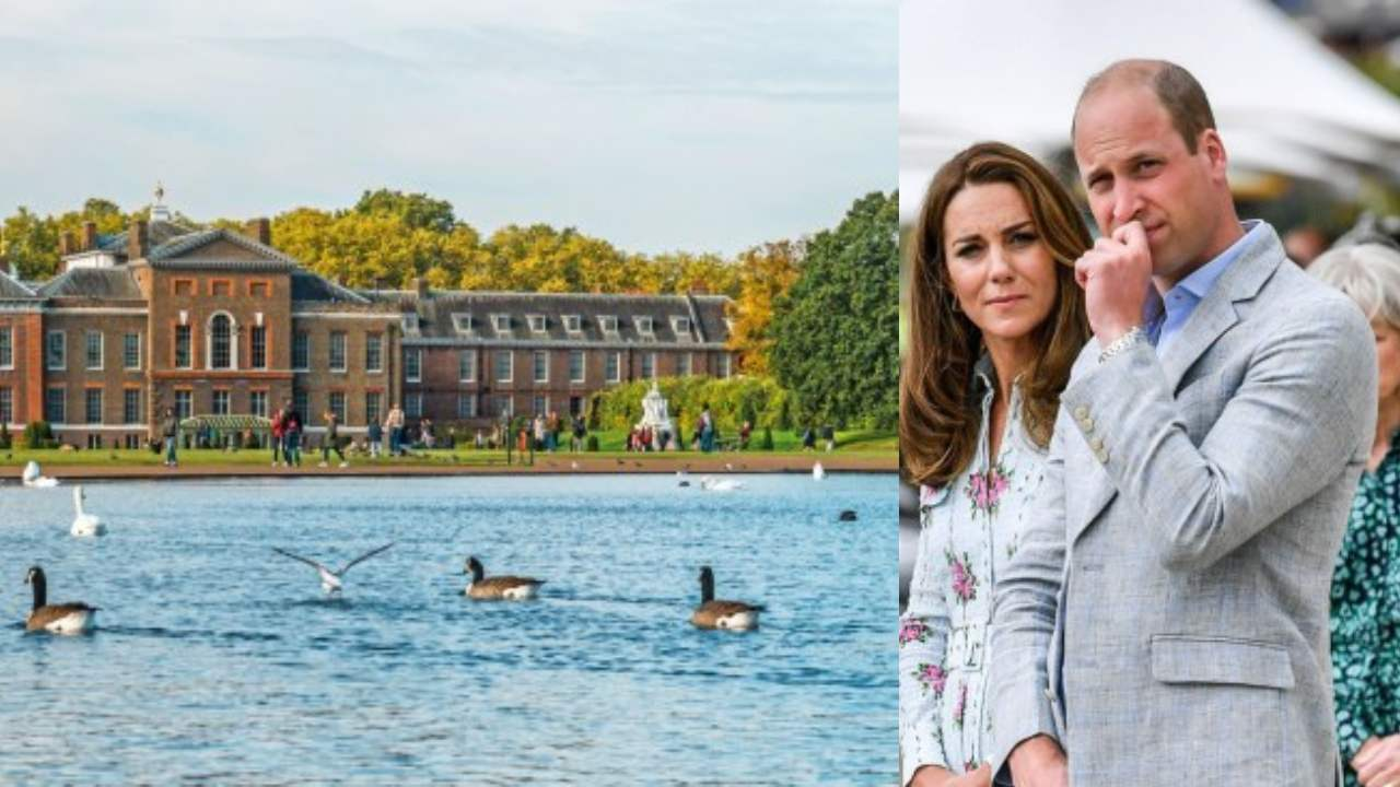 Dead body found in pond at Prince William and Kate Middleton's west London home