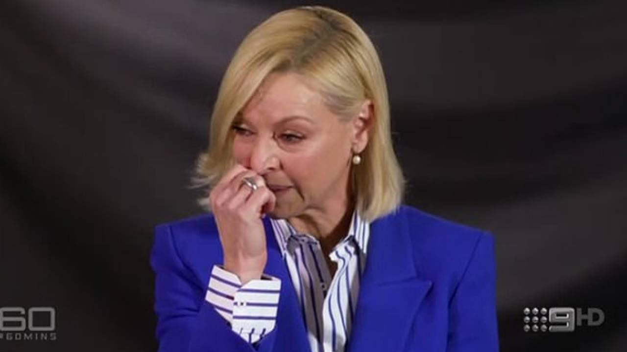 Liz Hayes breaks down after revealing her father died in extraordinary hospital blunder