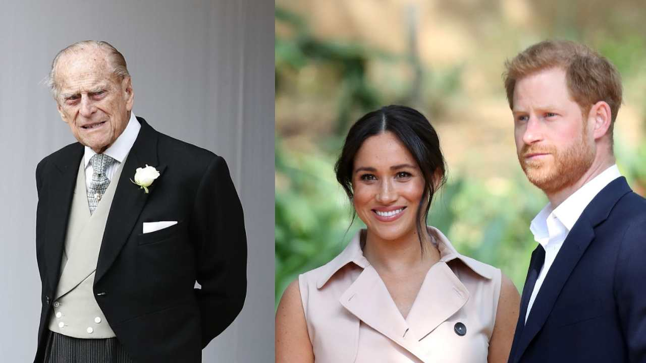 """Prince Philip """"disappointed"""" by Prince Harry and Meghan Markle"""