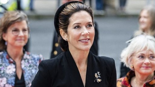 Rare royal outing! Princess Mary joins family in special event