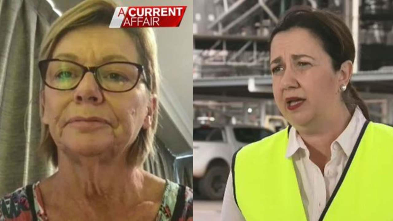 "Wife of brain surgery patient slams Queensland premier: ""An abomination"""