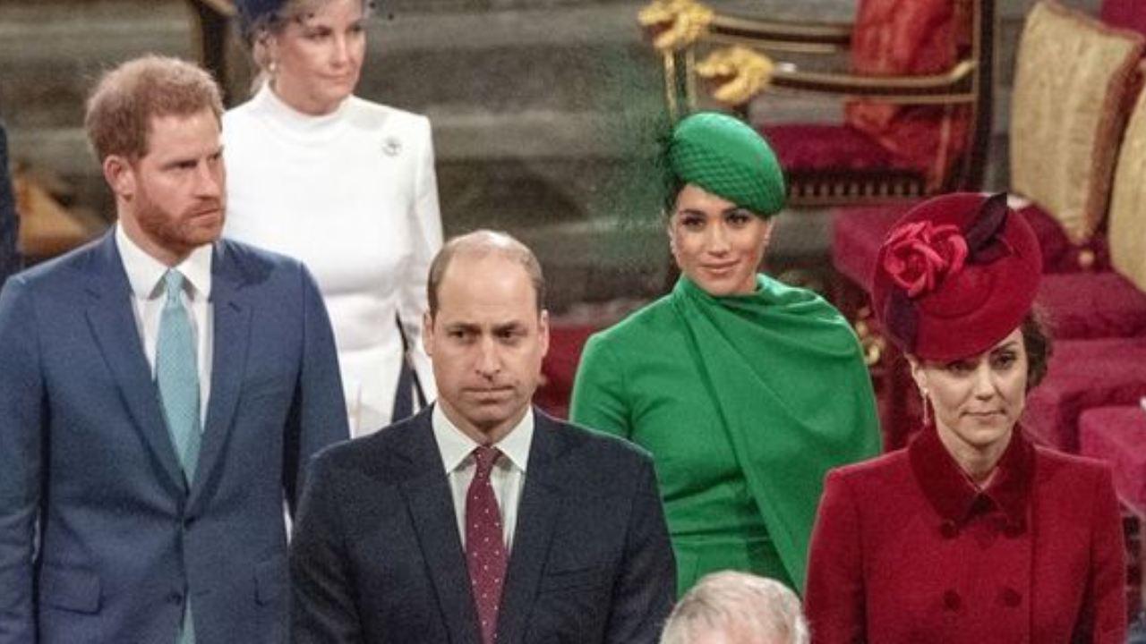 "Prince Harry ""fighting back tears"" after public royal snub"