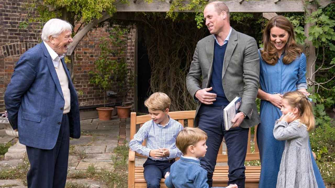 Prince George upset by Sir David Attenborough doco