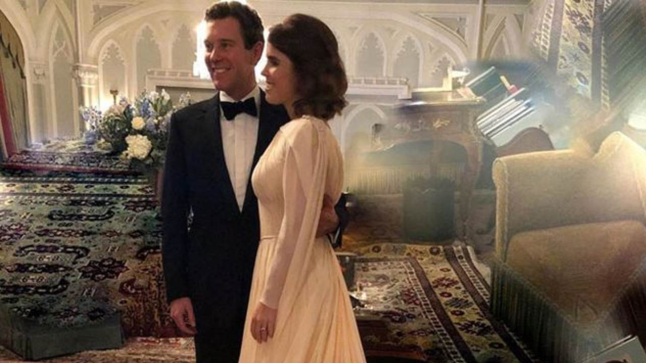Princess Eugenie shows never-before-seen wedding photos
