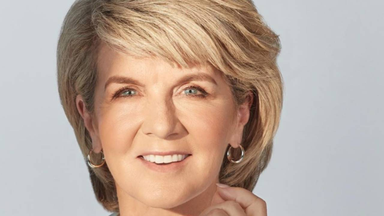 Julie Bishop turns heads in stunning beach photoshoot