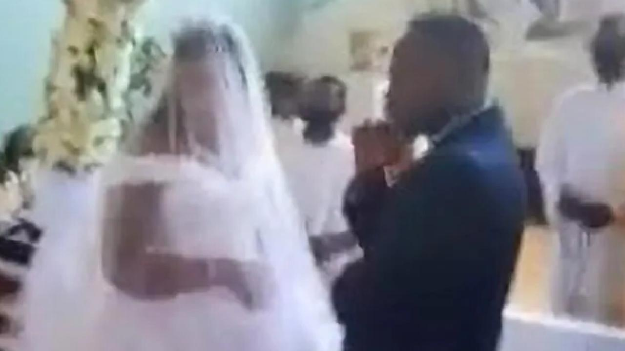 Woman raids wedding of man she is already married to