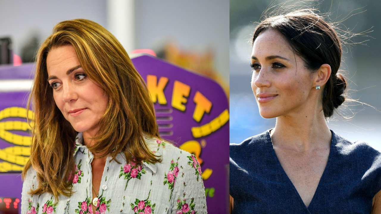 Royal fashion icons! Kate and Meghan rated most stylish