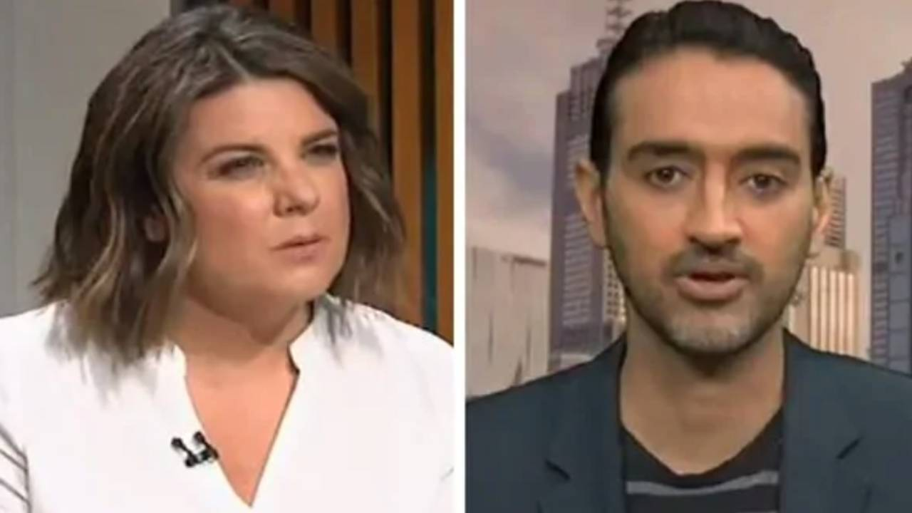 "That's c**p"": Kelli Underwood butts heads with Waleed Aly"